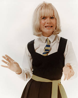 Judy Geeson In Three Into Two Won't Go  Art Print by Silver Screen