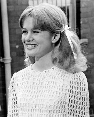 Judy Geeson In To Sir, With Love  Art Print by Silver Screen