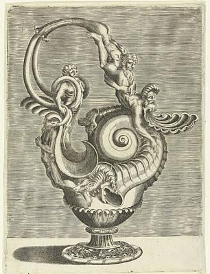 Jug In The Form Of A Volute, Print Maker Balthazar Van Den Art Print