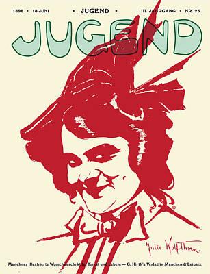 Jugend Magazine Art Print by Gary Grayson