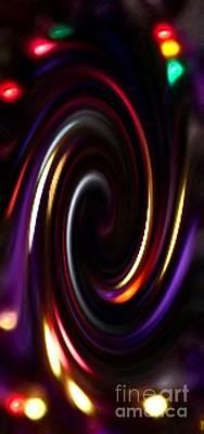 Juggling Colors Art Print by Gail Matthews