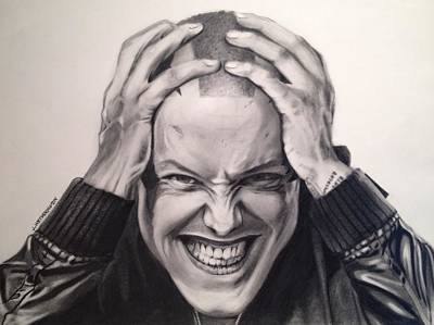 Sons Of Anarchy Drawing - Juice by Jim Wetherington