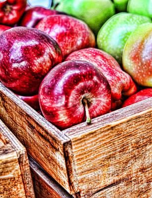 Photograph - Juicy Apples By Diana Sainz by Diana Raquel Sainz