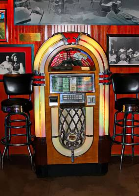 Juke Box Art Print by James Stough