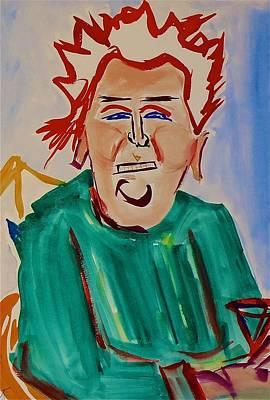 Julia Child Painting - Julia Child by Troy Thomas