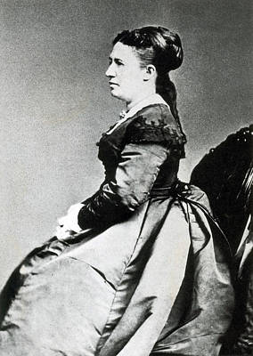 First Lady Photograph - Julia Grant, First Lady by Science Source