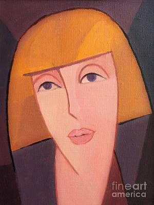 Painting - Julia - Juliet by Lutz Baar