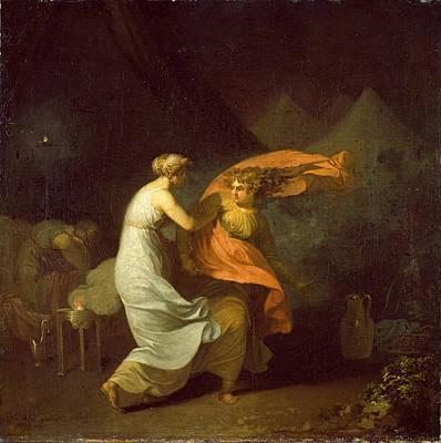 Painting - Julia Og Fulvia by Nicolai Abraham Abildgaard