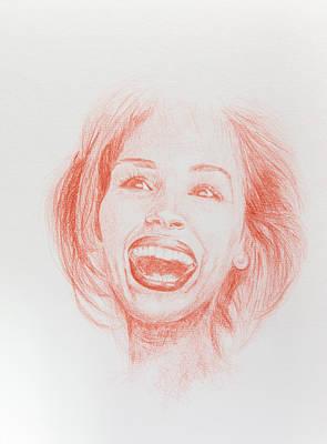 Julia Roberts Art Print by Maeva Merel