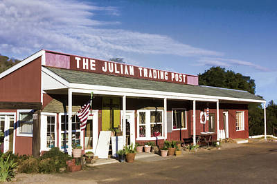 Digital Art - Julian Trading Post by Photographic Art by Russel Ray Photos