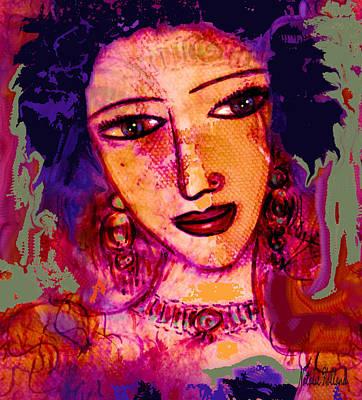 Mona Lisa Mixed Media - Juliana by Natalie Holland
