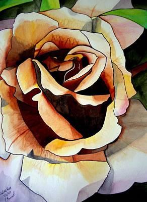 Julia's Rose Art Print by Sacha Grossel