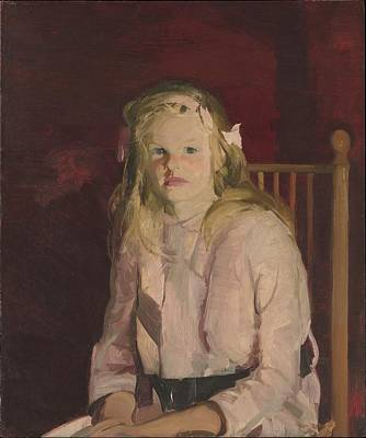 Masonite Painting - Julie Hudson by George Bellows