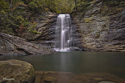 Photograph - Julienne Falls by Barry Cole