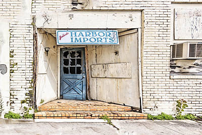 Photograph - Julie's Harbor Imports by Maria Coulson