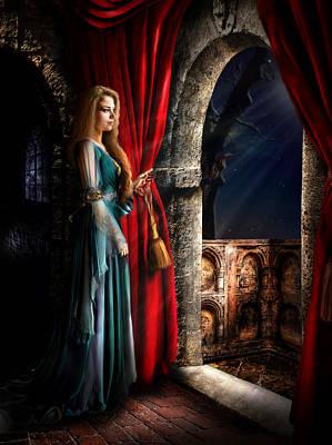 Romeo And Juliet Digital Art - Juliet by Alessandro Della Pietra