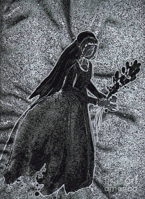 Archetype Drawing - Juliet's Ghost By Jrr by First Star Art