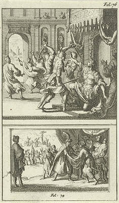 Julius Caesar Assassinated Art Print