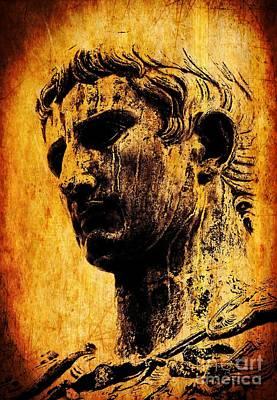 Painting - Julius Caesar  by Michael Grubb