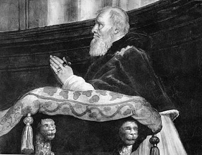 Podium Painting - Julius II (1443-1513) by Granger