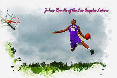 Julius Randle Of The Los Angeles Lakers Original by Don Kuing