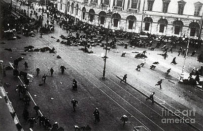 Photograph - July Days Bolsheviks Clash by Photo Researchers
