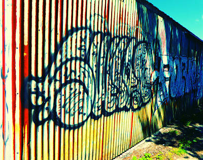 Photograph - July Graffiti 7 by Laurie Tsemak