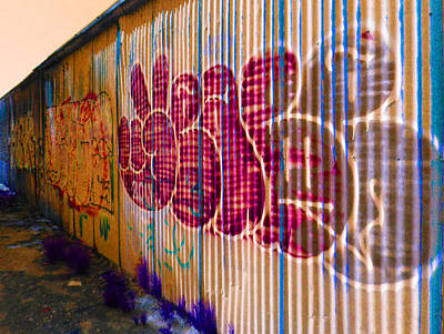 Photograph - July Graffiti 9 by Laurie Tsemak
