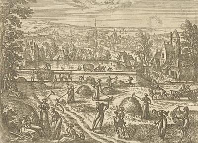 July, Pieter Van Der Borcht Art Print by Pieter Van Der Borcht (i)