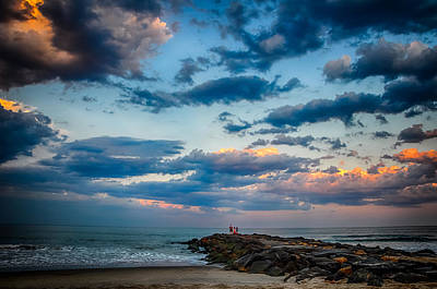Asbury Park Photograph - July Sky by Kristopher Schoenleber