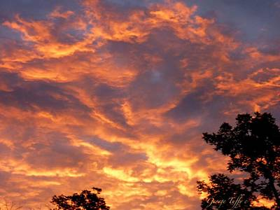 Photograph - July Sunset by George Tuffy