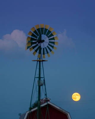 Photograph - July Super Moon by Dakota Light Photography By Dakota