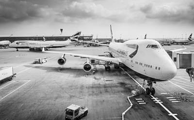 Photograph - Jumbo Jet by Gary Gillette