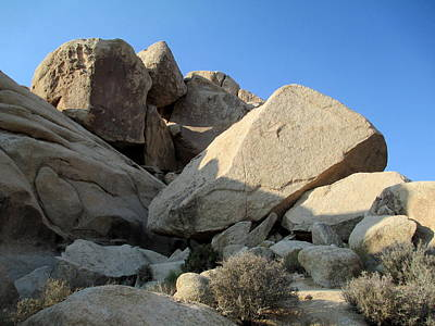 Photograph - Jumbo Rocks At Joshua Tree 4 by Randall Weidner