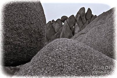 Jumbo Rocks Art Print