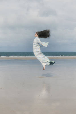 Windy Photograph - Jump by Joana Kruse
