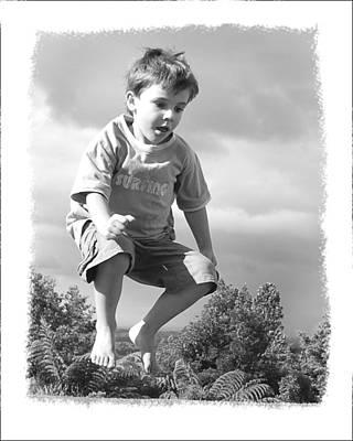 Jump Art Print by Wynn Davis-Shanks