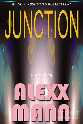 Pocketbook Cover Design Photograph - Junction by Mike Nellums