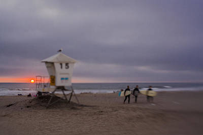 Photograph - June Gloom At Mission Beach by Scott Campbell