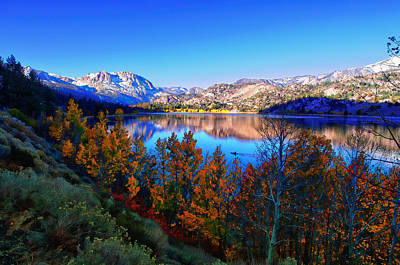 June Lake California Sunrise Art Print