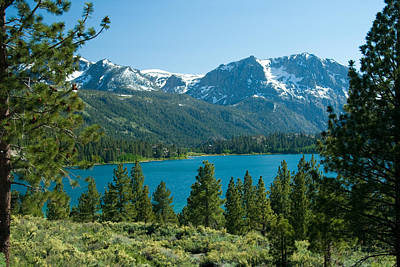 Snowy Mountain Loop Photograph - June Lake Loop by Celso Diniz