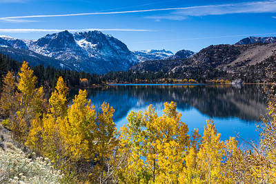 Photograph - June Lake by Tassanee Angiolillo