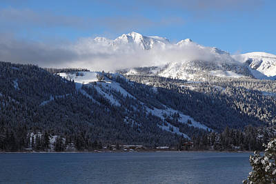 June Lake Winter Art Print