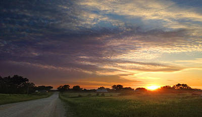 Photograph - June Sky Osage County by Rod Seel