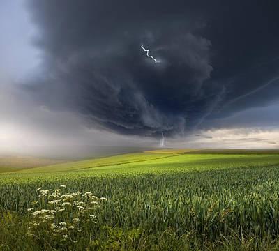 June Storm Art Print by Franz Schumacher