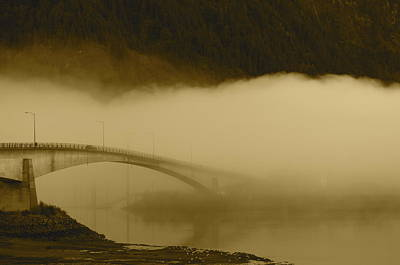 Juneau - Douglas Bridge Art Print