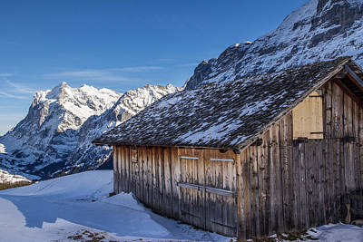Photograph - Jungfrau Cabin by Justin Albrecht
