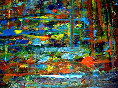 Swamp Boogie Painting - Jungle Boogie 130308-3 by Aquira Kusume