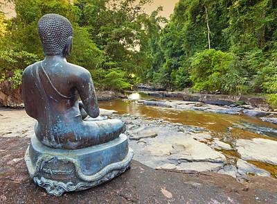 Photograph - Jungle Buddha by Alexey Stiop