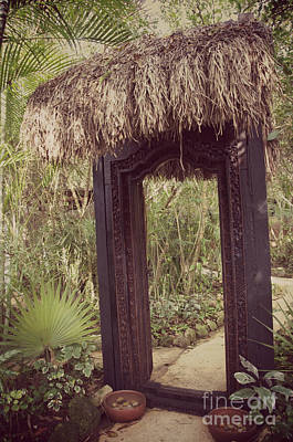 Photograph - Jungle Door  by Sarah Mullin
